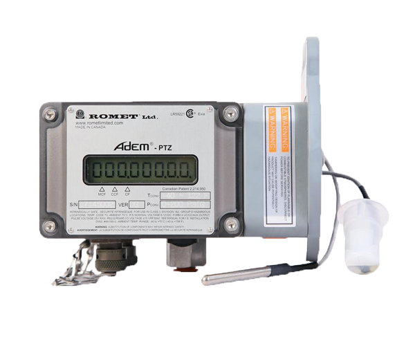 ADEM-PTZ – ADVANCED ELECTRONIC MODULE WITH TEMPERATURE PRESSURE & SUPERCOMPRESSIBILITY